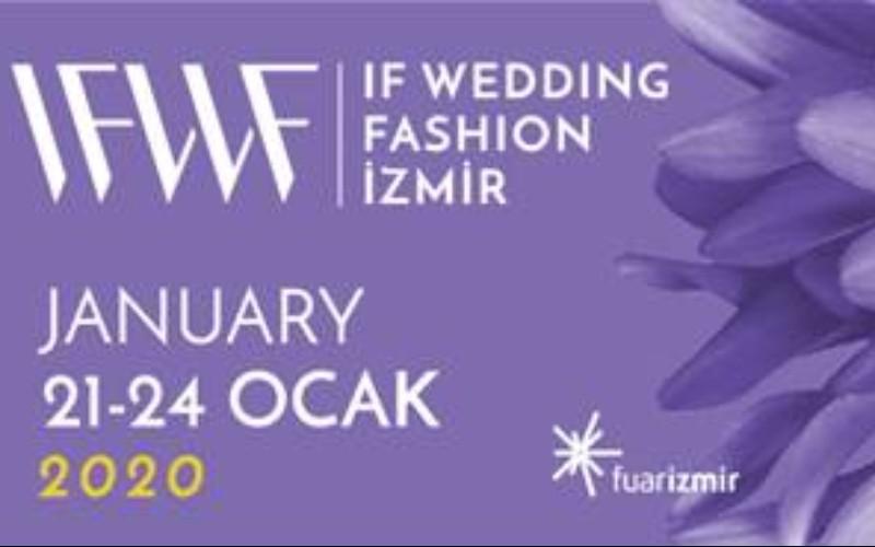 IF Wedding Fashion İzmir, 14. Gelinlik Damatlık ve Abiye Giyim Fuarı