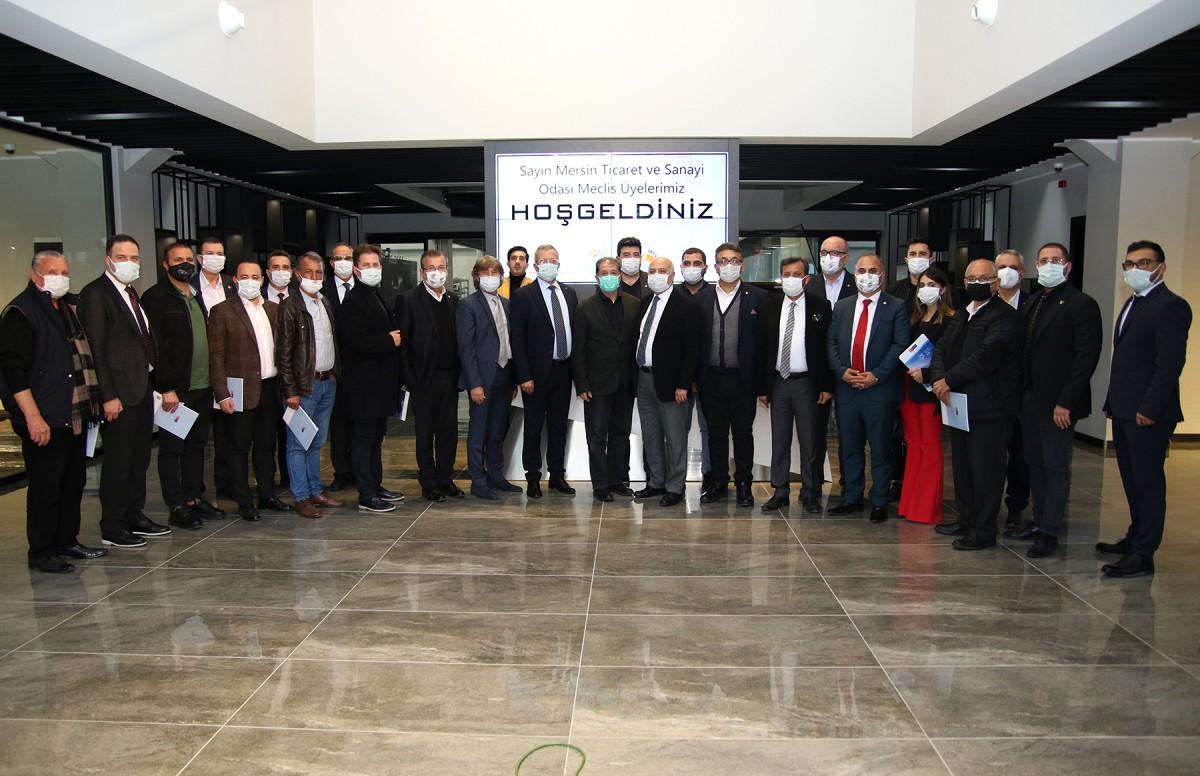 Model Fabrika MTSO Meclis Üyelerine tanıtıldı