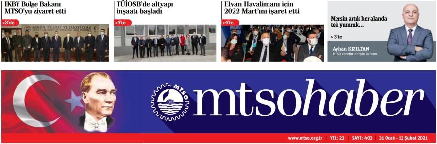 MTSO Haber Sayı 406 - 14 Mart 2021