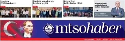 MTSO Haber Sayı 411 -  6 Haziran 2021